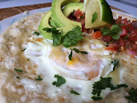 Quick and Healthy Huevos Rancheros from Top Ate on Your Plate