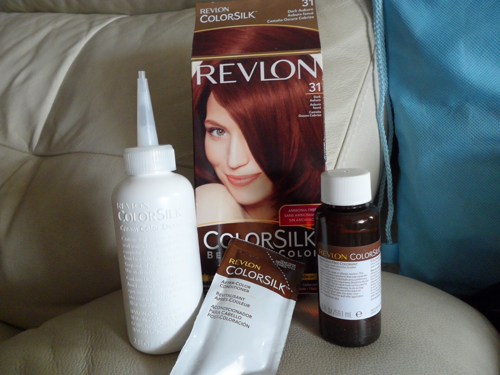 Hair Colour My Virgin Hair Dye Review Revlon Colorsilk Dark