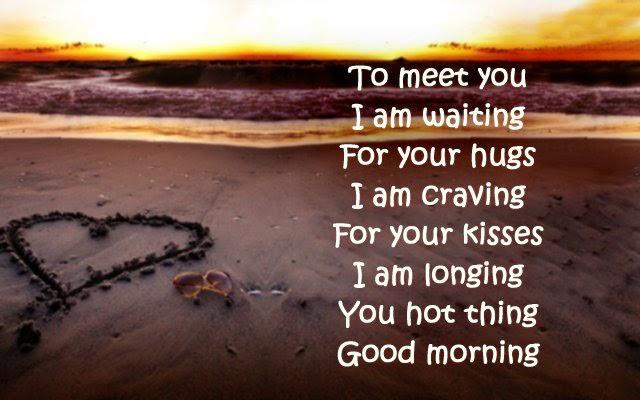 Sweet good morning love poems for her