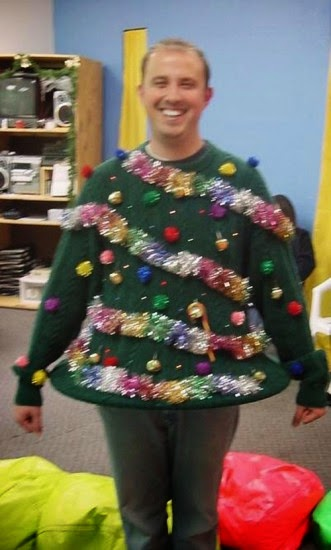 Matt Of All Trades Ugly Christmas Sweaters Charlie Brown Trees Are