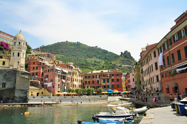 Vernazza haven