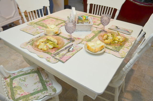 Bernideen 39 S Tea Time Cottage And Garden Lemon Garlic Chicken With Green Beans And Potatoes For