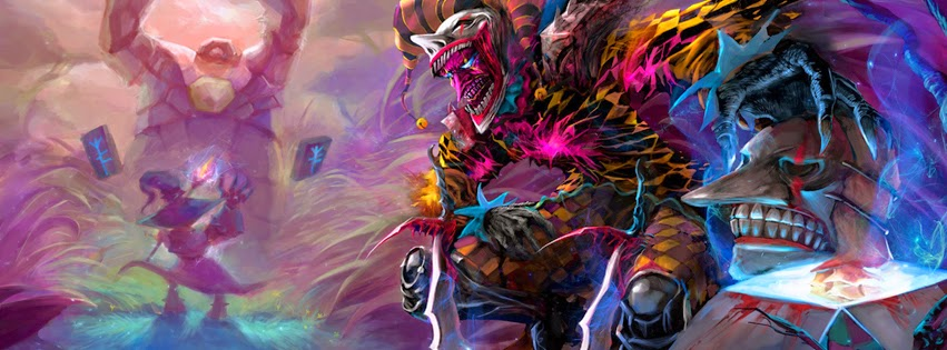Shaco League of Legends Facebook Cover PHotos
