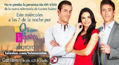 Foto promocional de De Que Te Quiero, Te Quiero