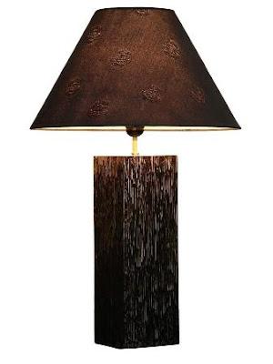 Wood Table Lamp Design