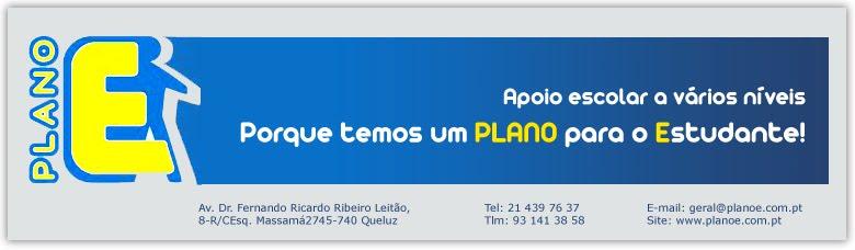PLANO E - Centro de Estudos