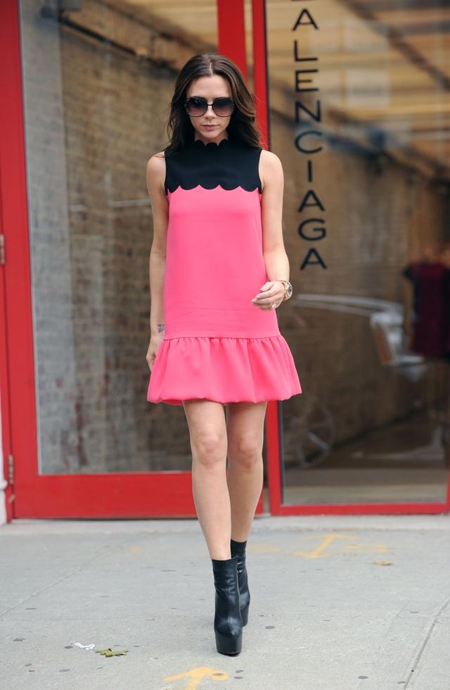 Street Style Victoria Beckham Stylish Starlets