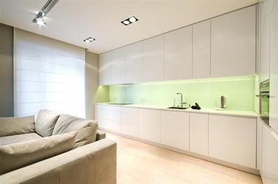 Desain Interior Minimalis Serba Putih 13