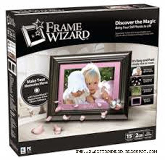 A 2 Z Soft Download Picture Frame Wizard Software Full Version Free