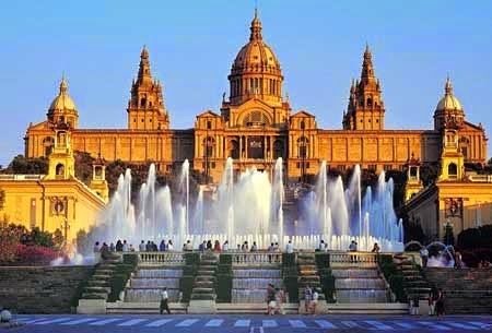 Montjuic slotte, Barcelona