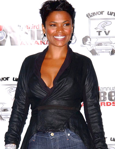 Nia Long Short Haircut