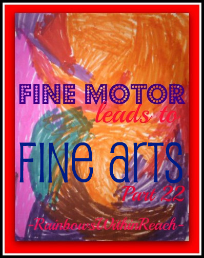 photo of: Fine Motor leads to Fine Arts, Friday the Thirteenth Edition, Celebration Party!