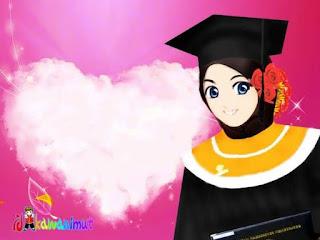 Kartun Gambar Muslimah Yang Cantik 00000080