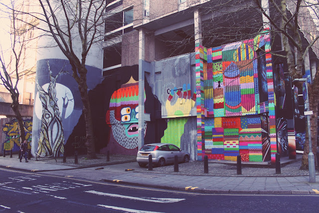 Nelson Street, Grafitti, Bristol, Pattern