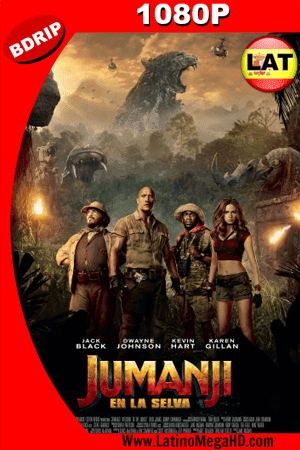 Jumanji: En la Selva (2017) Latino HD BDRIP 1080P - 2017