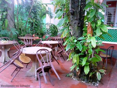 Restaurante Grão de Arroz: Ambiente externo