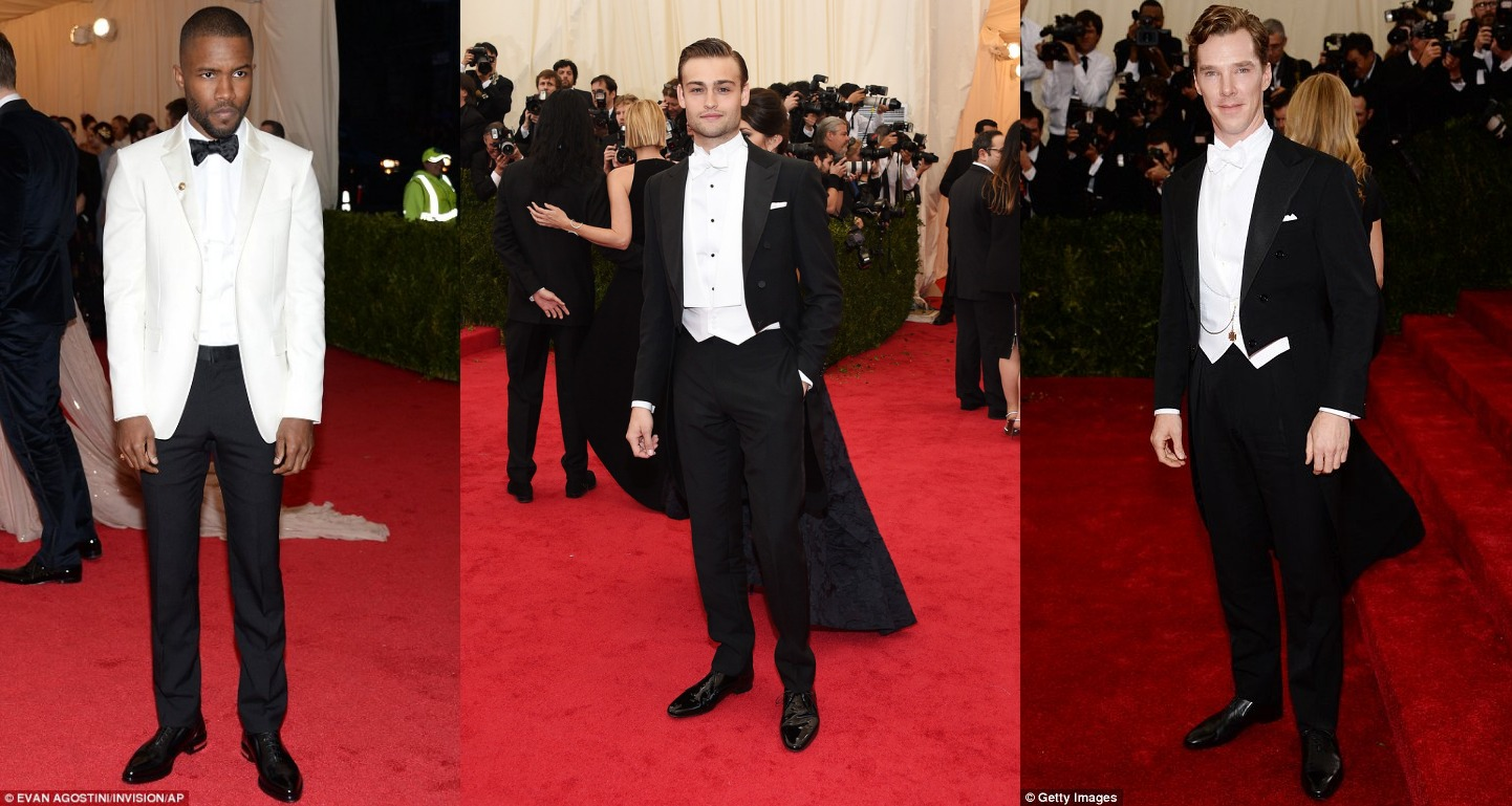 White Tie With Decorations The Rakish Gent Best Dressed Of The Week Met Ball Special