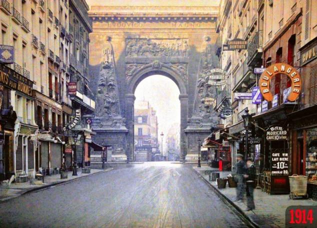 Porte Saint-Denis 1914