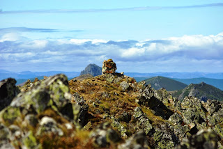 Teverga, ascensión al pico Ferreirúa, la cima