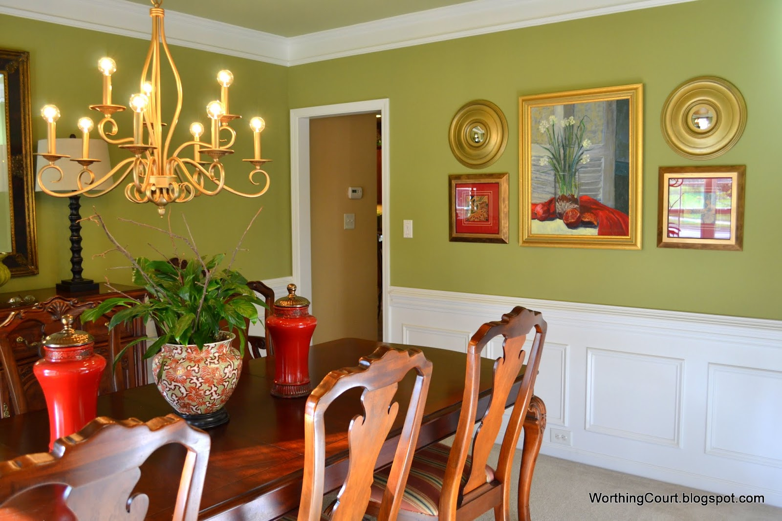 Updated Dining Room Tour - Worthing Court