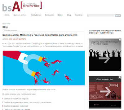 Entrevista a José Javier Quintana de  bsA [ Rethinking Architecture ] por SF23 Arquitectos Segovia