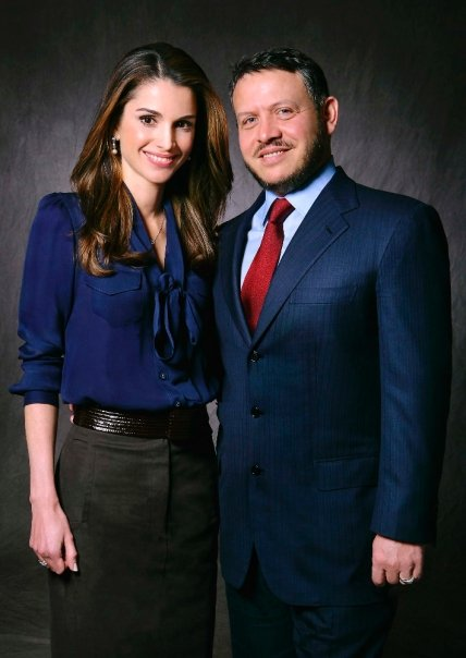She met her husband  King Abdullah  at a party and it was  quot love at    Queen Rania Al Abdullah Husband