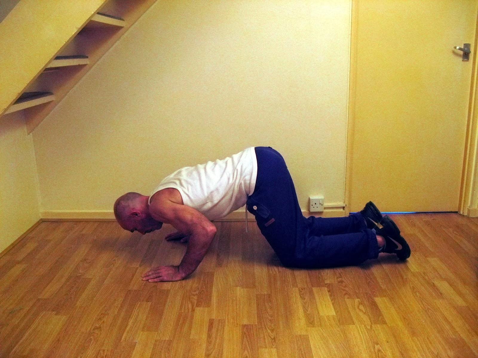 start bodyweight training push up progression