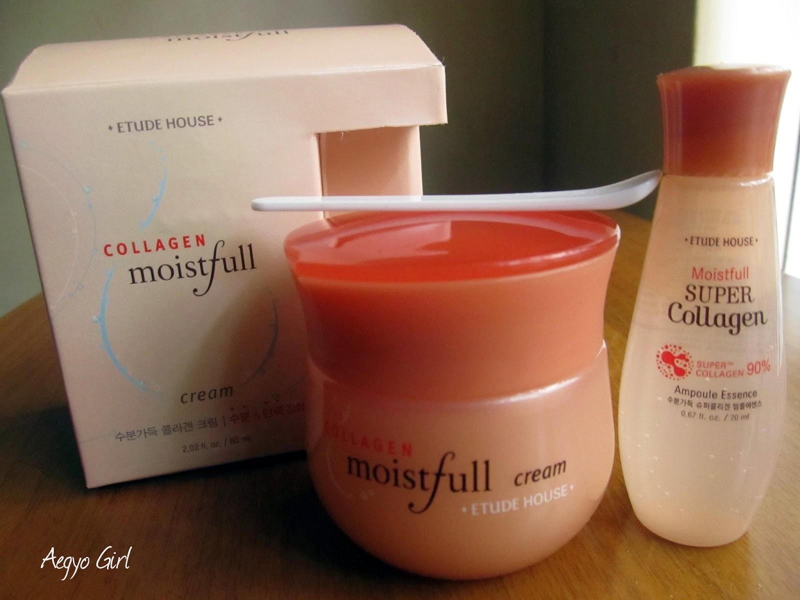 (6 Pack) ETUDE HOUSE Moistfull Collagen Cream , Fade Cream for Dark Spots, Normal Skin, 2 Oz - Pack of 2 By AMBI