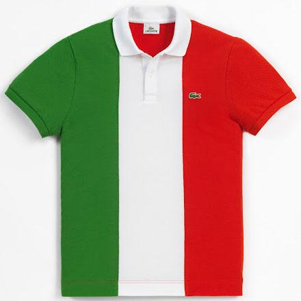 polo bandera de Italia
