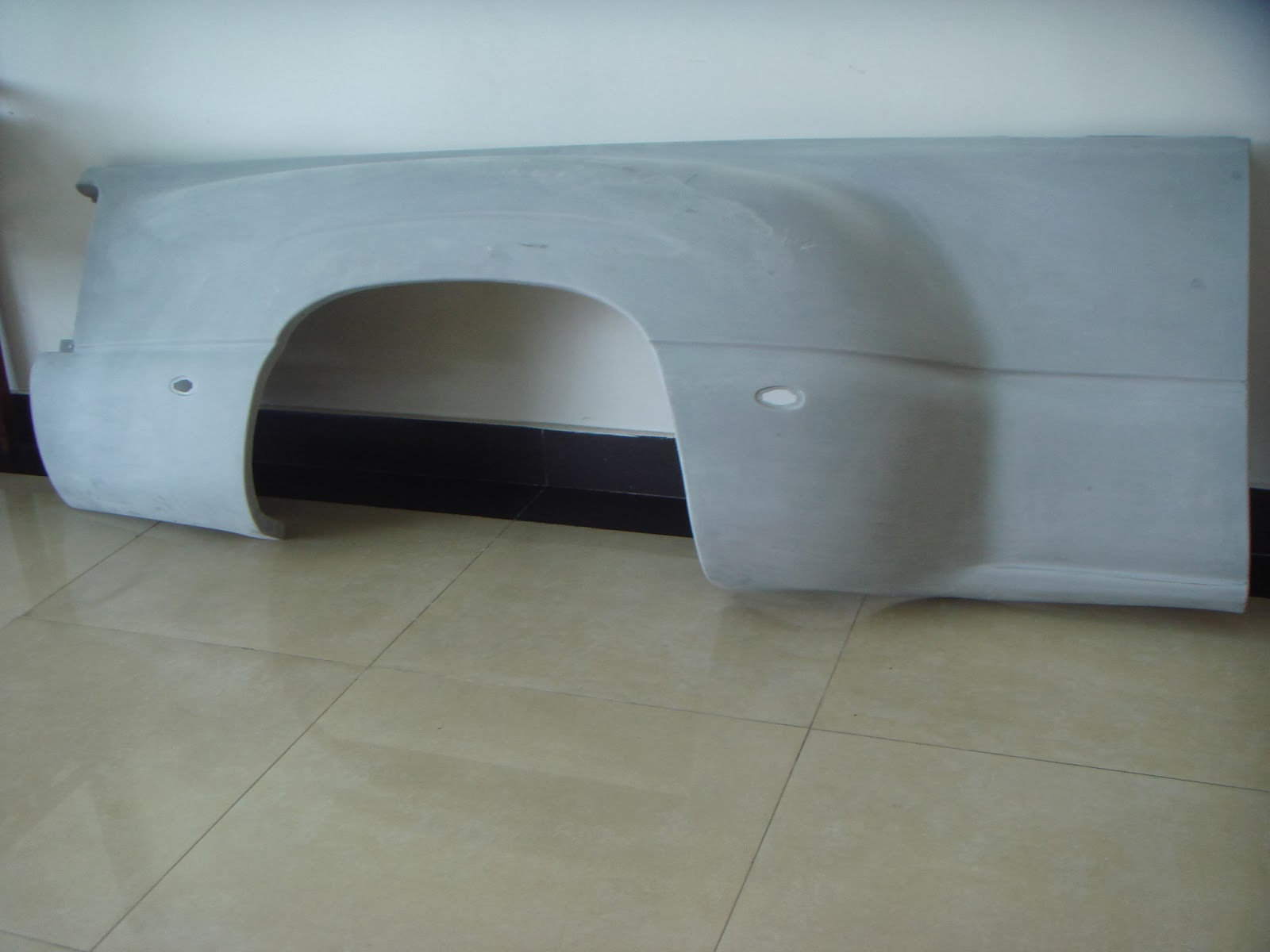 GMC Dually Fenders Rear Fiberglass Aftermarket Replacement (for sale