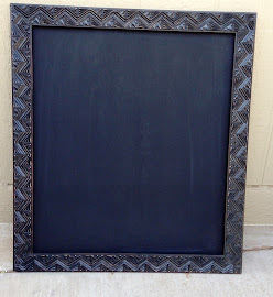 Geometric Chalkboard ($22)