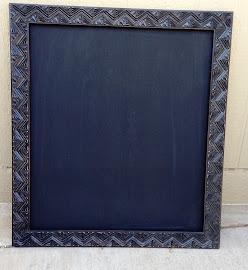 Geometric Chalkboard ($22)