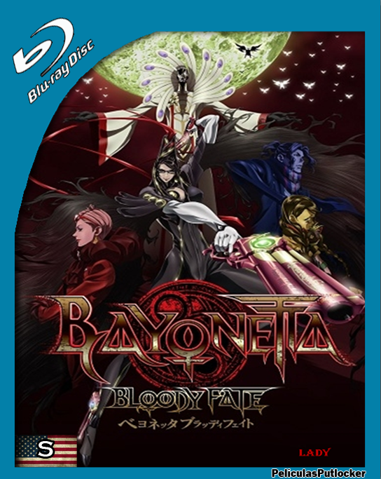 Bayonetta: Bloody Fate [BrRip 720p][Subtitulada][SD-MG-1F]