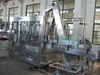 Mesin filling botol AMDK - Air Minum Dalam Kemasan Mesin-filling-air1