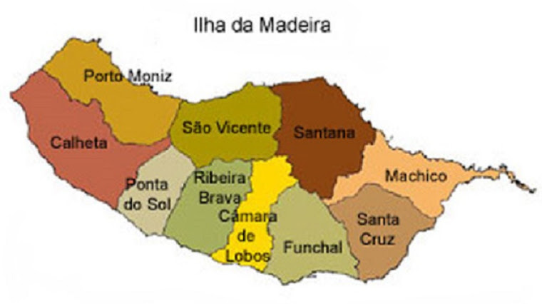 mapa Ilha