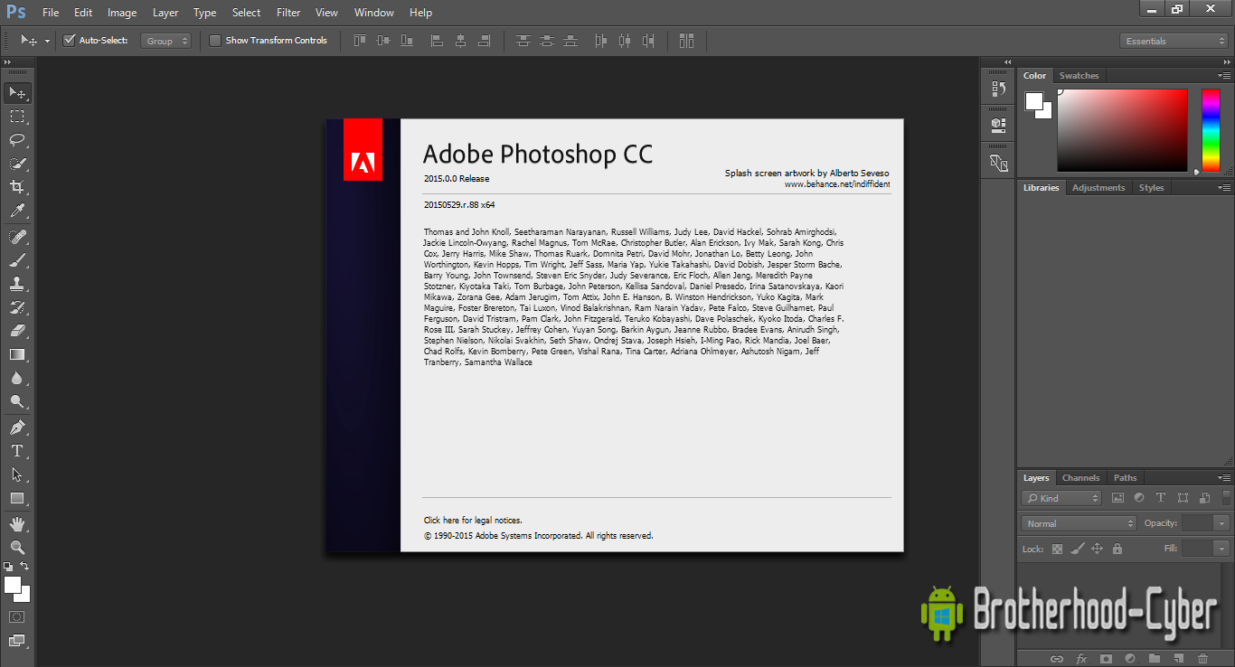 Download adobe photoshop rar file for free (Windows)