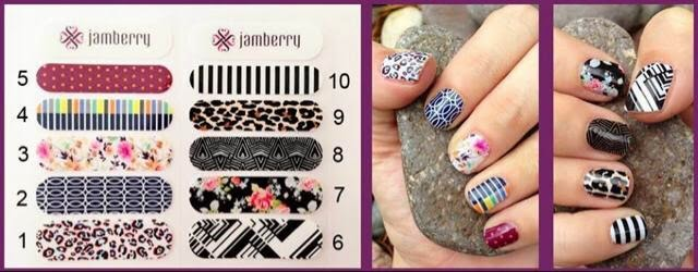 Image: Choose your Jmaberry nail wrap sample