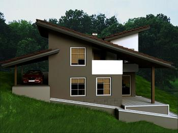 Modern country homes modern home designs for Contemporary country homes designs