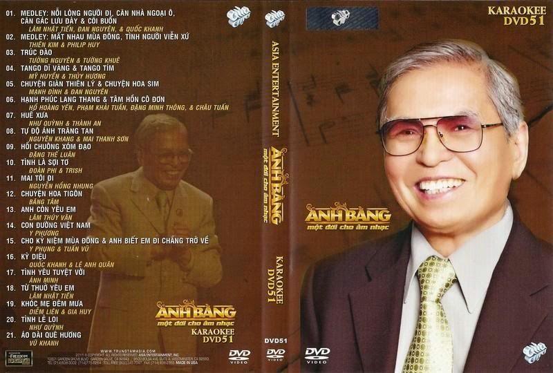 Asia Karaoke 51 - Anh Bằng - Một Đời Cho Âm Nhạc [DVD9.ISO]