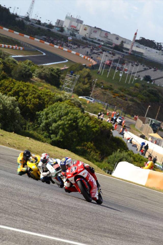 Zulfahmi,di perlumbaan Jerez,Sepanyol