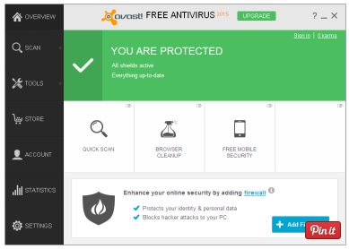 Antivirus avast gratuit windows 8