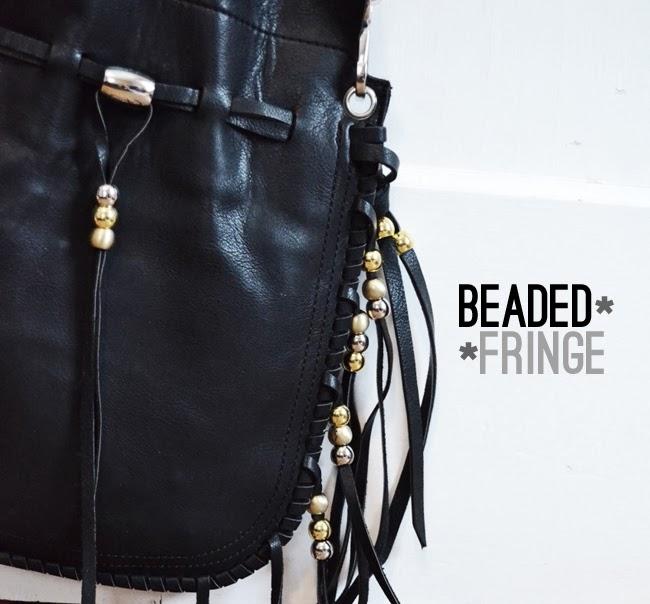 beaded fringe bag - Banyan Tree Tremont