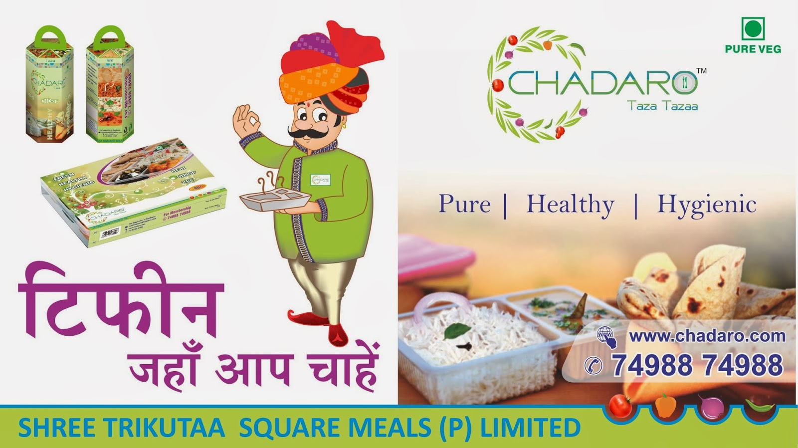 Chadaro Taza Tazza Dabbawallas In Mumbai