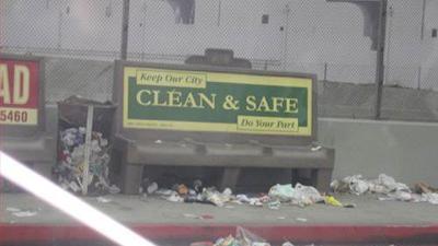 Муниципальная реклама - сделаем город чистым и безопасным