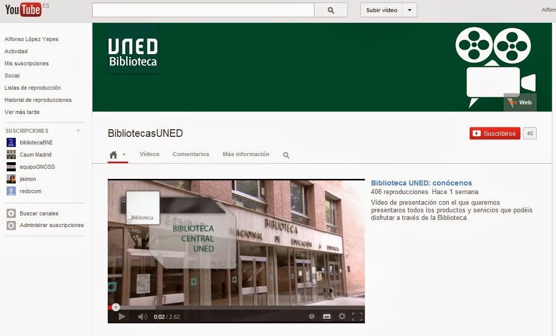Redauvi red iberoamericana de patrimonio audiovisual for Biblioteca uned madrid