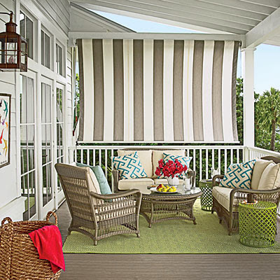 Coastal Living Showcase Outdoor Patio