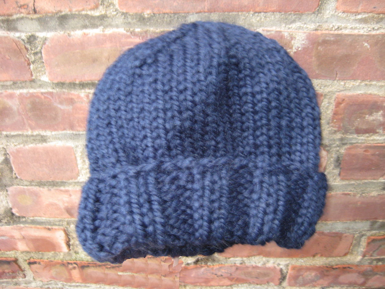 Castaway Knitting: Easy Basic Men\'s Winter Hat Pattern: Ed\'s Hat by ...