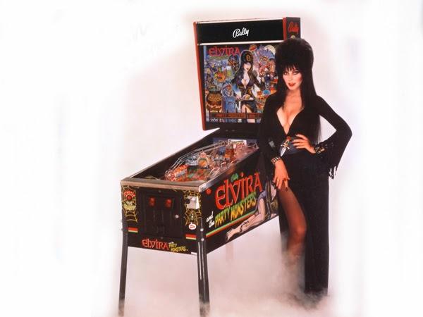 Pinball Elvira