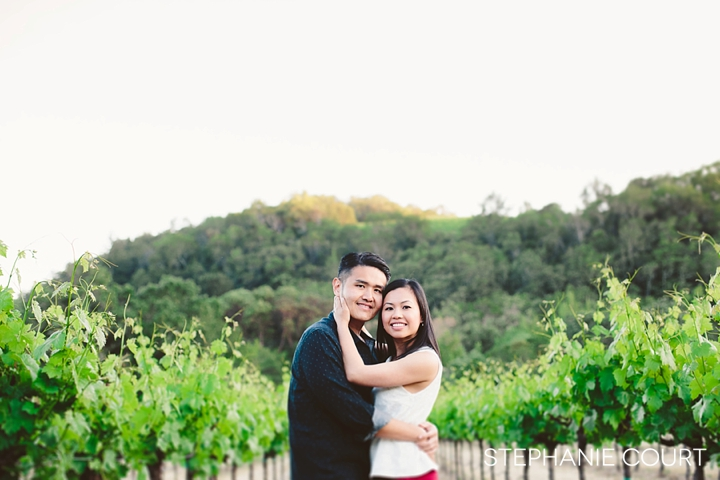 sonoma engagement photos