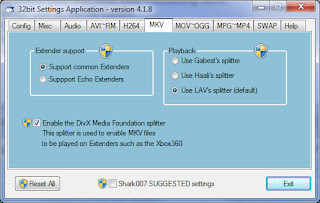 Shark 007 Windows 7 Codecs Advanced 4.2.1